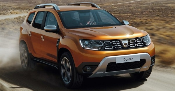 Another one drives the new Duster: Dacia Duster II