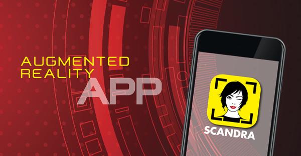 Brandneue App: SCANDRA ist da!
