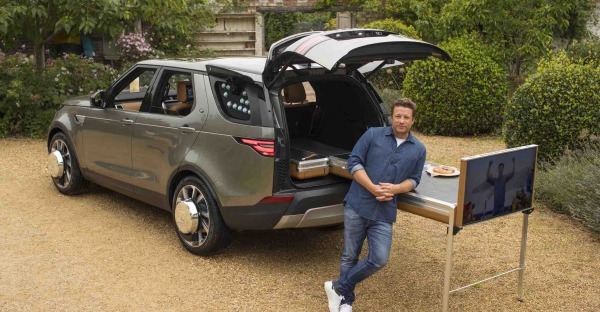 Food Truck: Jamie Olivers Land Rover Discovery