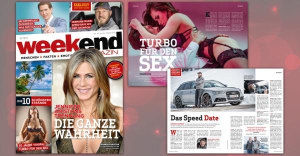 Schöner, moderner, besser: Facelifting für das Weekend Magazin