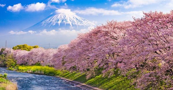 Top 10: Die schönsten Reiseziele im Frühling