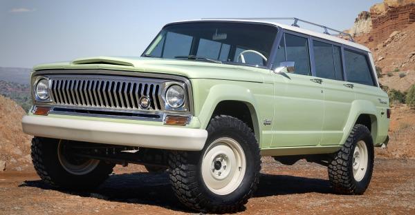 Sieben auf einem Streich: Jeep Concept Cars