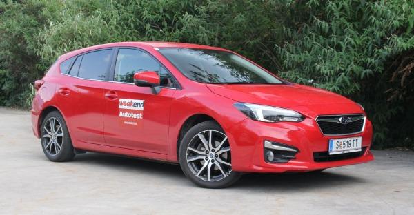 Subaru Impreza: Allrad-Boxer
