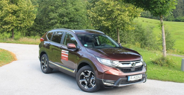 Ein Japaner in Tirol - der neue Honda CR-V im Fahrbericht