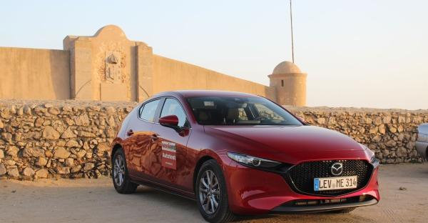 Kurztest: Mit dem neuen Mazda3 an der Atlantikküste