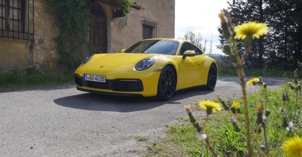 911 - mit dem neuen Porsche durch die Toskana