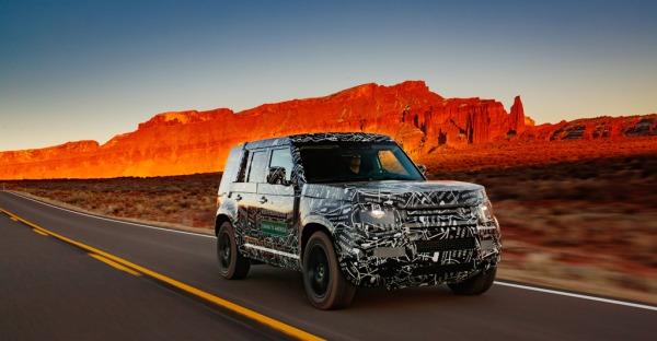 Der Thronfolger: Land Rover Defender