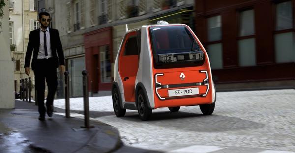 Die Kubatur des Autos: Renault EZ-POD