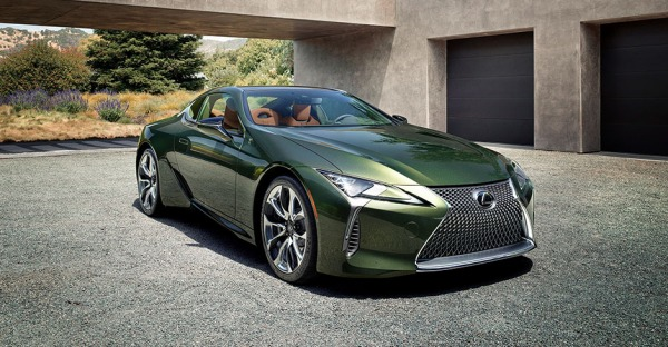 Lexus LC Limited: Besonders sexy und edel
