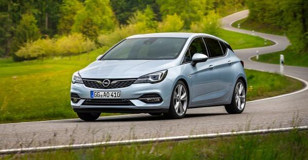 Opel Astra aufgefrischt