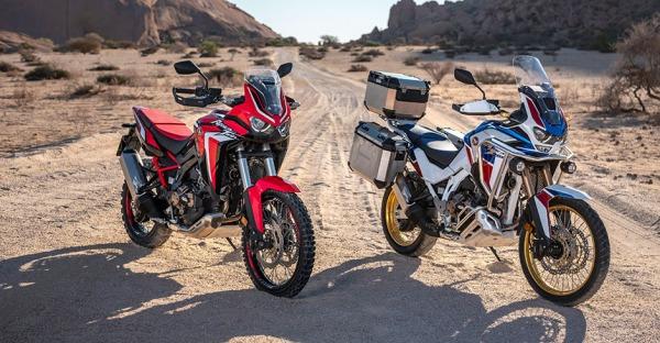 Honda African Twin: Motorrad-Zwillinge von Honda