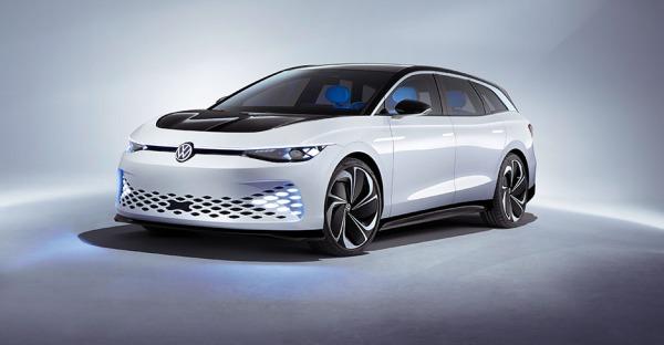 VW ID. Space Vizzion: Der Passat im E-Gewand