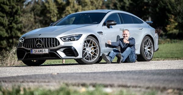 Ein Wagen als Wagnis: Mercedes AMG GT 63 S 4Matic+ im Test