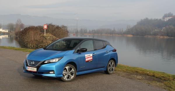"""Nissan """"leafert"""" mehr Power - der Leaf e+ im Weekend Test"""