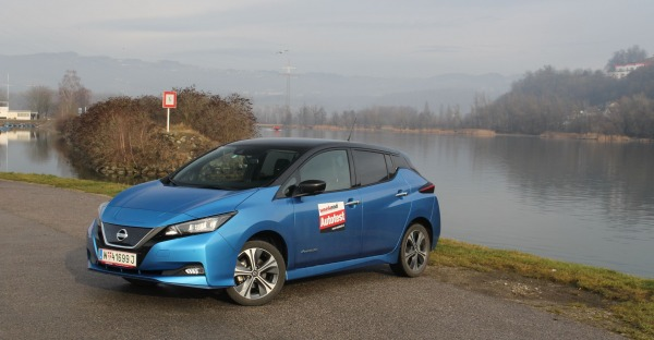 "Nissan ""leafert"" mehr Power - der Leaf e+ im Weekend Test"