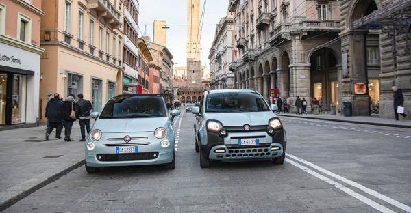 Fiat 500 und Panda Hybrid: Dynamisches Duo