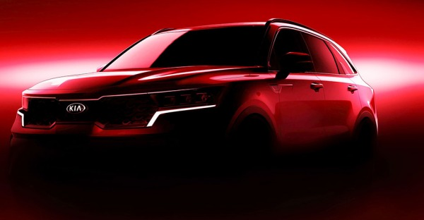 Kia Sorento: Großes SUV mit markanter Front