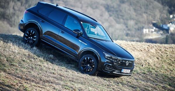 VW Touareg R-Line V8 TDI 4Motion im Weekend-Test
