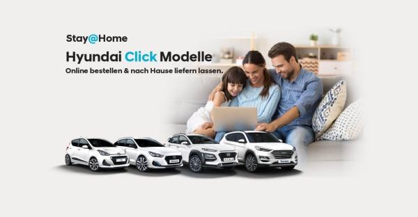 Stay@Home Vorteil bei Hyundai