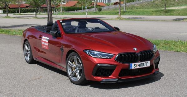 BMW M8 Competition Cabrio im Test - Alle M-Achtung!