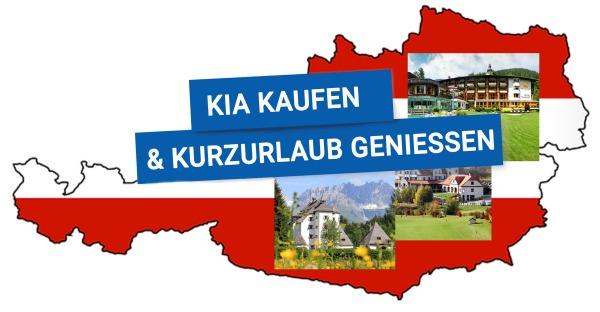 KIA kaufen & Kurzurlaub in Österreich im Wert von € 350 genießen!