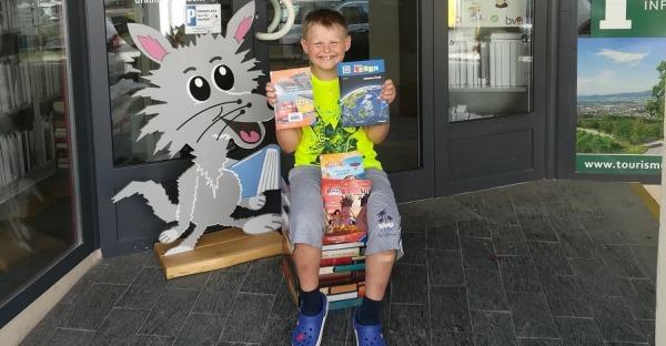 Sommerleseaktion in der Stadtbücherei Wolfsberg