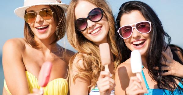 Sonnenschutzschilde für Augen und Haut