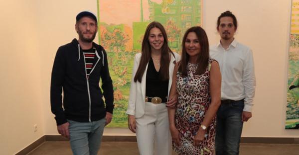 """Galerie Sechzig: Uros Weinberger """"Projectories"""""""