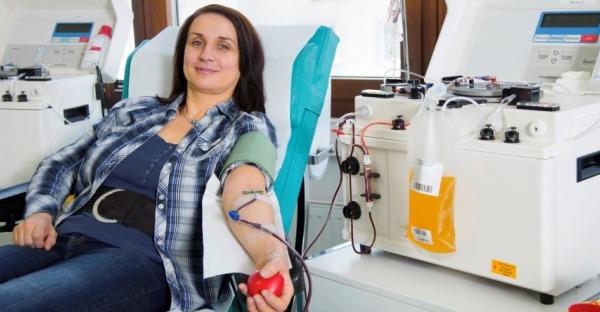 Mit Plasma Leben retten