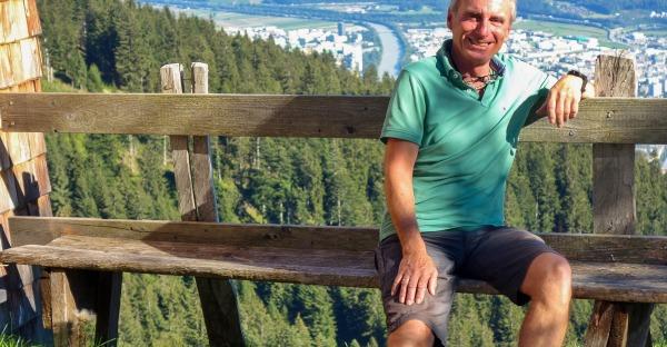 Höttinger Alm: Zu Besuch beim Hüttenwirt
