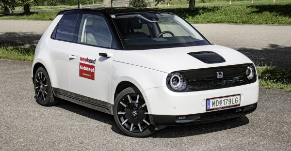 Honda e im Test: Das E-Bussibärli!