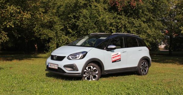 Der neue Honda Jazz Crosstar e:HEV Im Weekend Test
