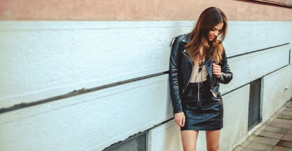 Lederlooks sind der coolste Trend in diesem Herbst