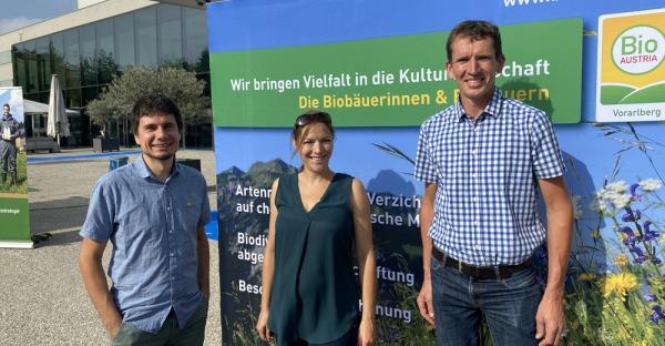 Biomarkt als Fest