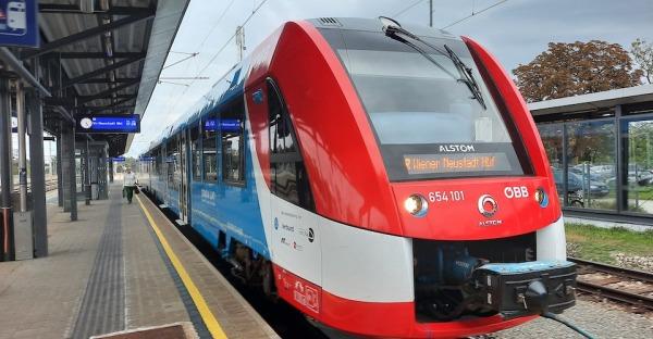 On Tour: ÖBB testen Wasserstoff-Zug