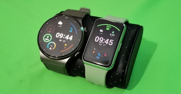 Tech-Blog: Huawei Watch Fit und Huawei Watch GT2 Pro im Test