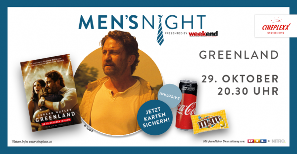 Cineplexx Men's Night powered by Weekend Magazin
