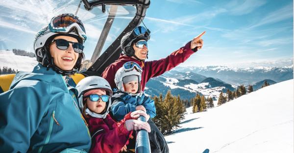 Die 8 besten Familien-Skigebiete Österreichs