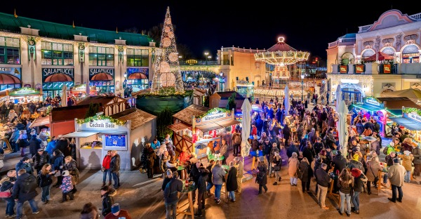 Wintermarkt im Prater: Musik liegt in der Luft
