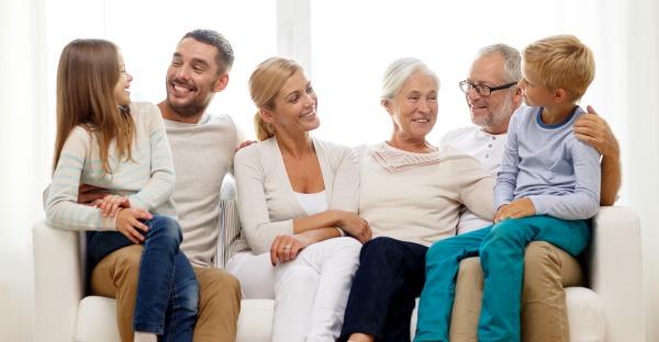 Keine Sehnsucht nach Wohnen in der Großfamilie