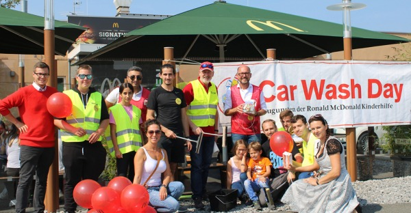 Car Wash Day 2020 McDonald's Vorarlberg