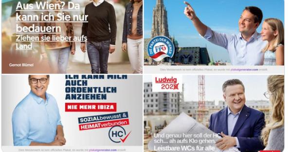 Best of Wahlkampf: Witziges zur Wien-Wahl
