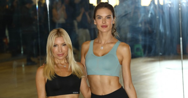 Alessandra Ambrosio beim Victoria's Secret Angels Training