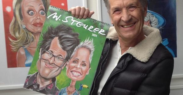 Mit spitzer Feder: Steurers lustige Monatsblätter