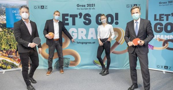 Sportjahr 2021: Graz sucht den Tischtennis-Kaiser