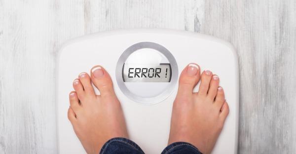 Die 8 größten Fehler beim Wiegen