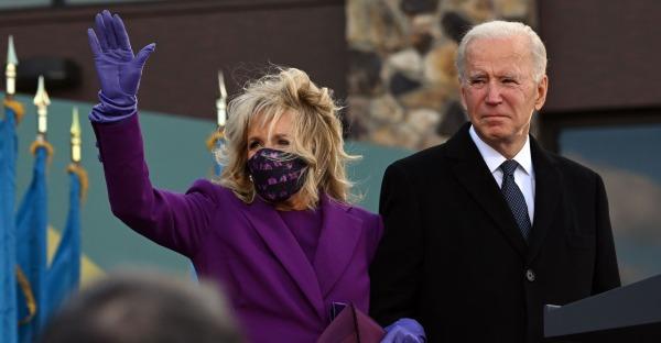 Joe und Jill Biden ziehen ins Weiße Haus