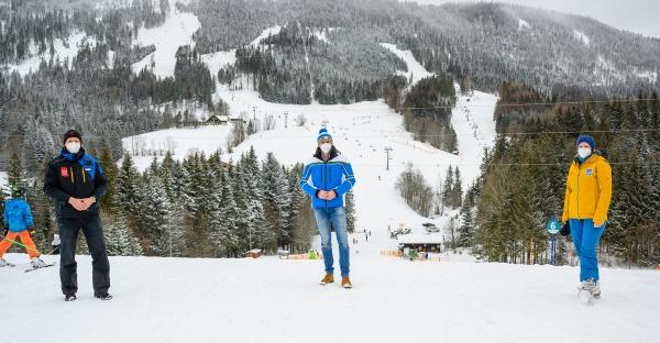 Nö. Skigebiete bestens vorbereitet!