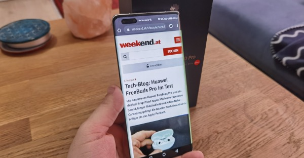 Tech-Blog: Huawei Mate 40 Pro im Test - Bye Bye Android?