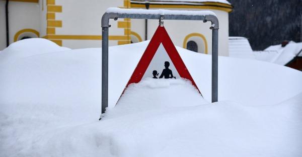 Schnee-Rekorde in Salzburg